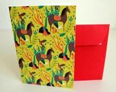 Pony Card / Carte Chevaux