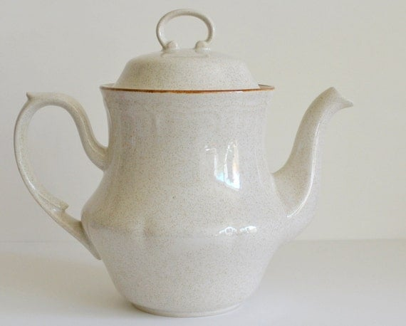 Hearthside Stoneware Hand Painted Pitcher