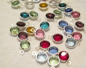 ONE Swarovski Channel Drop Birthstone ADD-ON, birthstone crystal