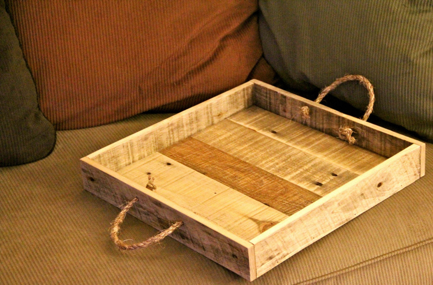 Reclaimed Wood Serving Tray Wooden Serving Tray Serving