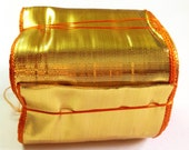 Gold Gota- Indian trim - 10 Yards - Gold gota patti  - Extra wide gota lace for wedding dresses