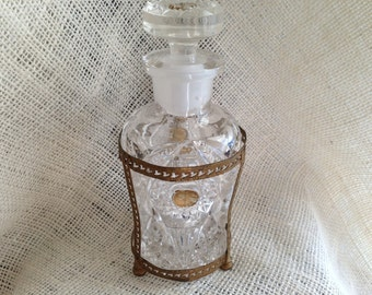 Vintage Perfume Bottle and Stopper