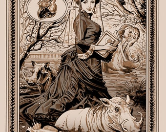 Monsters and Dames 2013 - Lady Excelsior Print