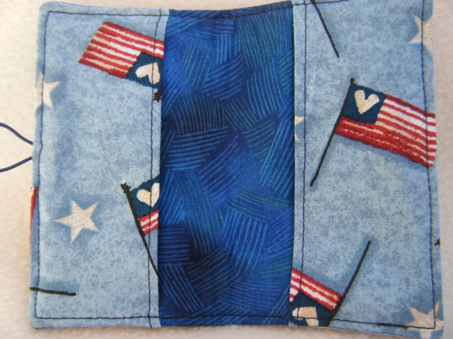 Patriotic Business Card/Gift Card Case - HANDMADE BY ME ...