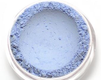 "Matte Light Blue Eyeshadow - ""Snowdrop"" - Vegan Mineral Eyeshadow Net Wt 2g Mineral Makeup Pigment"