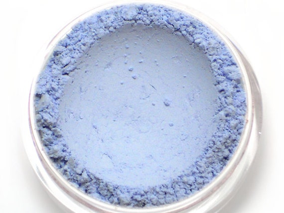 Matte Light Blue Eyeshadow - SNOWDROP - Vegan Mineral Eyeshadow Net Wt 1g Mineral Makeup Pigment