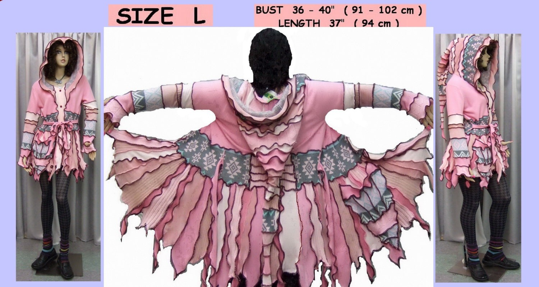 Sold elf coat handmade elf sweater coat women by 1uniquedesign