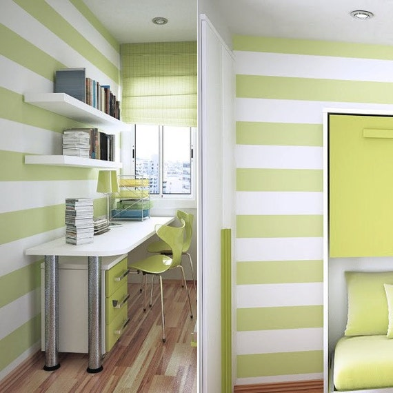 Stripes Vinyl Wall Decal 75 55 Or 45