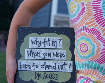 why fit in dr. seuss