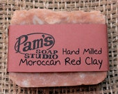 Hand Milled Moroccan Red Clay Soap