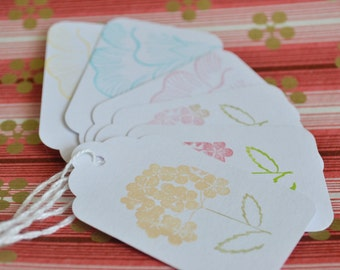 Spring In Bloom Gift Tags