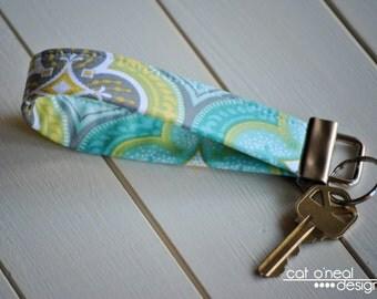Key Fob - Key Chain - Wristlet Keychain - Wrist Lanyard - Fabric Key Fob - Morracan Main