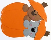 Custom Made for Karen - Pumpkin Bears