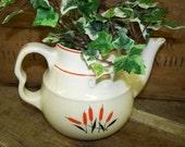 1940's Cattail Teapot Universal China
