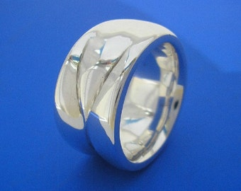 Silver Barbie Ring , Hand Made Solid Silver