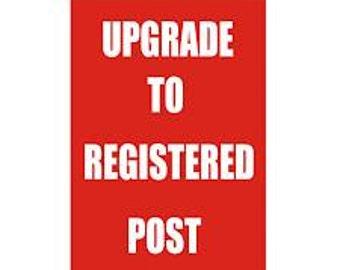 REGISTERED post - signature postage AUSTRALIA ONLY