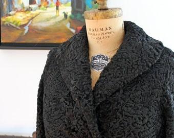 Vintage Persian wool coat