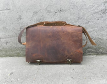 Leather Handbag Messenger/Tan Crossbody Bag For Men And Women/Top Handle Personalized Leather Handbag/Handmade Hobo Bag/Laptop Bag