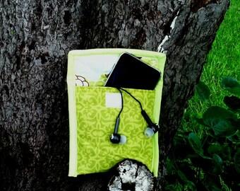 Bright Green MP3 Case