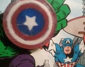Captain America Handcarved Soap
