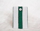 Wallet. Credit Card Holder. Green, gray. ID Card Wallet. Credit Card Case. Eco-Friendly