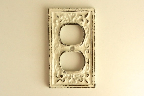 electrical outlet cover decorative wall plate french. Black Bedroom Furniture Sets. Home Design Ideas