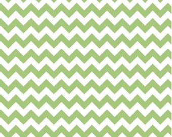 Small Chevron Green by Riley Blake Designs Fat Quarter Cut