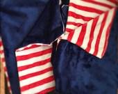 Reserved for Karen Eyth - Patriotic Baby Blanket