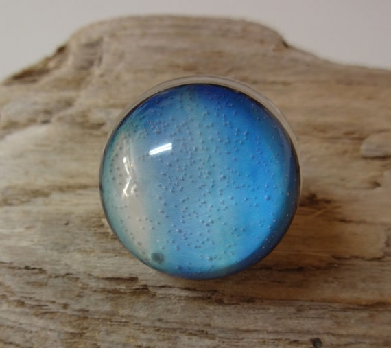 Items similar to Uranus Ring - Planet Ring - Space Jewelry ...