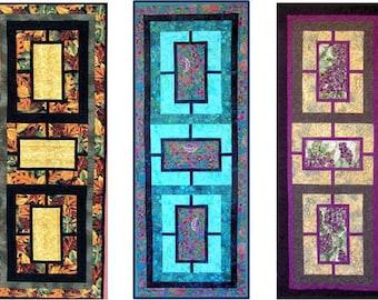 Garden Tiles PDF Quilt Pattern in 5 Sizes