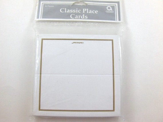 Wedding classic place cards wedding guests cards table place cards