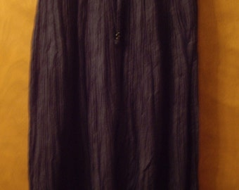 Long blue cotton skirt from the 90's.