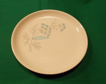 "Two (2), 6 1/4"" Bread and Butter Plates, from Royal-Stetson, in the Royal Maytime Pattern."