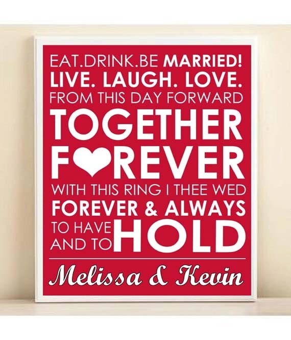 Wedding Gift Subway Art : Items similar to Wedding Gift Personalized Wedding Subway Art Print ...