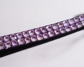 Purple Shiny Strap... Handle. Japanese
