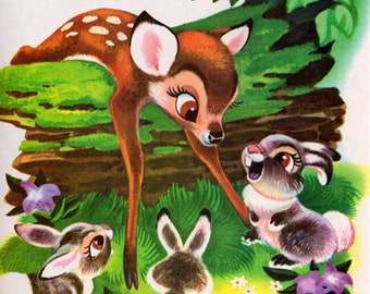 Walt Disney's Bambi (A Golden Book)