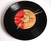 "QUEEN Vinyl Record CLOCK  7"" single. pick you song! Bohemian Rhapsody etc Great gift for men women Freddie Mercury fans glam rock"