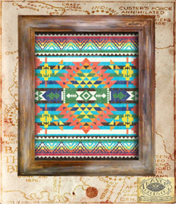 Native American Indian Home Decor: Items Similar To SouthWest Indian Blanket Native American