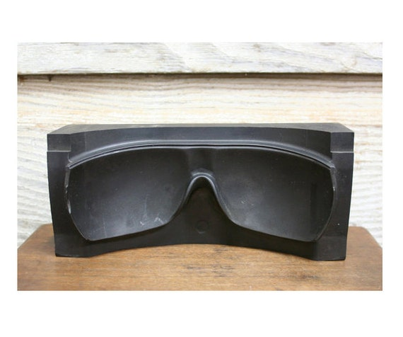 Vintage Industrial Safety Goggle Mold