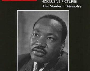 """Vintage Historical Original LIFE Magazine April 12, 1968 - Martin Luther King Jr. Assassination """"WEEK Of SHOCK"""""""