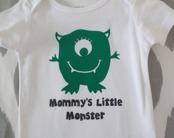 Carter's 12 month - Mommy's Little Monster Onesie READY TO SHIP