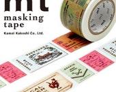MT Washi Masking Deco Tape EX Tickets Design