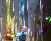 Mushroom Stash Bags, Lighter Holders, Crystal Pouch, Rasta, Rainbow, Custom Colors