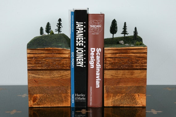 Bookends Of The Earth Conifer Forest Series By Garthborovicka