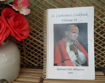 St. Catherine Cookbook, 1991, Collection of Favorite Recipies