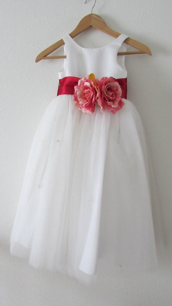 Красивый пояс на детское платье своими руками 89