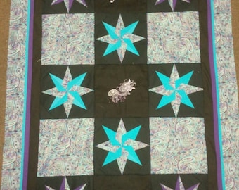 Believe Star Lap Quilt