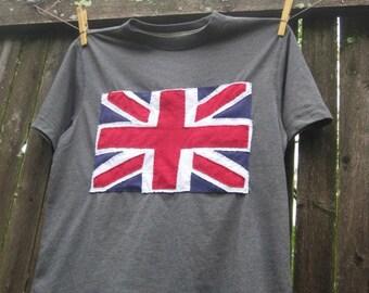 UNION JACK T shirt Kids,tweens,teens and dads