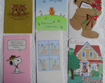 Mothers Day Card Fronts for Scrapbooking or Crafts
