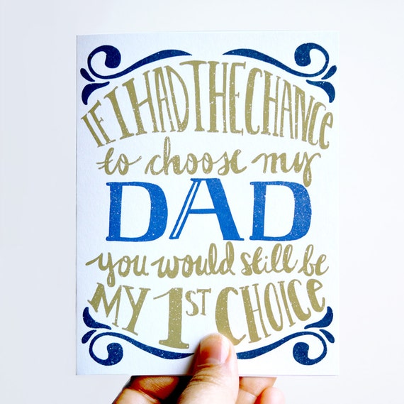 Father's Day Card. Any Ocassion card. Blank Card. For Him.